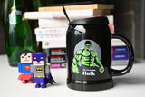 DC Marvel Super Hero Ceramic Mug With Spoon and Cover