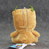 Groot Plush Doll Keychain - DCMarvel.Store