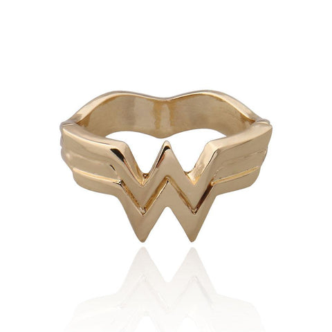 Wonder Woman Logo Metal Ring - DCMarvel.Store