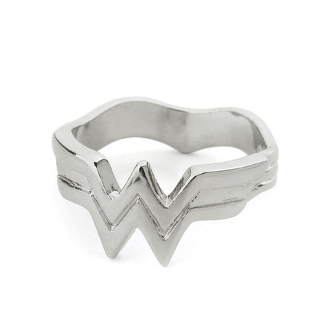 Wonder Woman Logo Metal Ring - DCMarvel Store