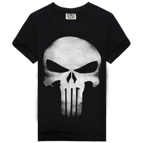 Punisher Cotton T-shirts - DCMarvel.Store