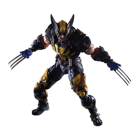 Wolverine X-MEN Play Arts Kai Action Figure - DCMarvel.Store
