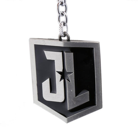 Justice League Logo Metal Keychain - DCMarvel.Store