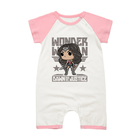 Wonder Woman Baby Onesies 9 Colors - DCMarvel.Store