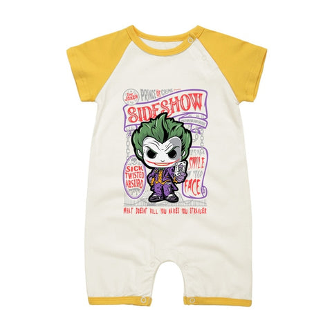 The Joker Onesies Short Sleeve For Baby 9 Colors