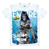 Suicide Squad Characters Printing T-shirt