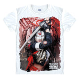 Suicide Squad Characters Printing T-shirt - DCMarvel.Store