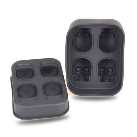 Silicone Skull Ice Cube Tray - DCMarvel Store