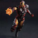 Marvel Superheroes Play Arts KAI Action Figure 25cm - DCMarvel Store