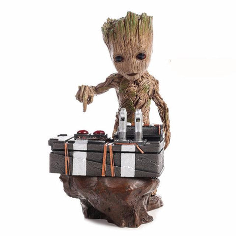 Guardians of The Galaxy - Baby Groot Playing Music Figure - DCMarvel.Store