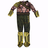 Aquaman Deluxe Muscle Cosplay Costume for Child - DCMarvel.Store