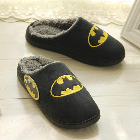 Justice League Batman vs Superman Winter Home Slippers - DCMarvel.Store