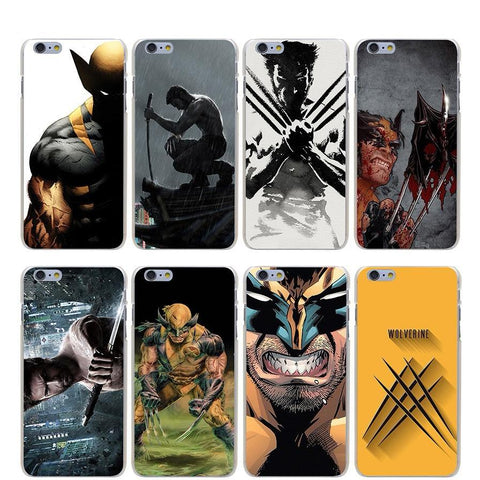 The Wolverine Hard Transparent Case for iPhone - DCMarvel.Store