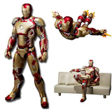 Iron Man Mark 42 Action Figure with Sofa - DCMarvel.Store