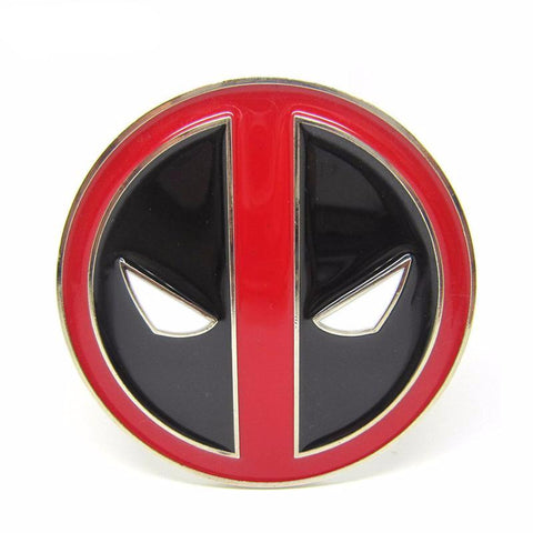 Deadpool Metal Belt Buckle - DCMarvel.Store