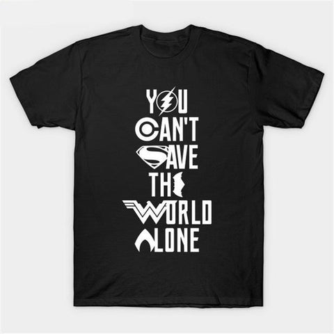 DC Justice League T-shirt - DCMarvel.Store