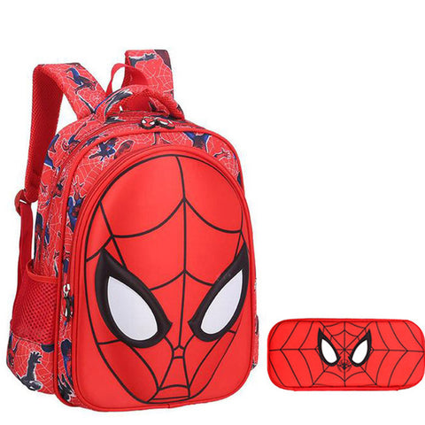 Spider Man 3D Backpack Small Size For Kindergarten - DCMarvel.Store
