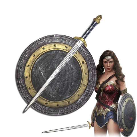 1:1 Wonder Woman Cosplay Shield - DCMarvel Store