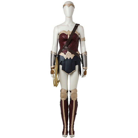 Wonder Woman Diana Prince High Quality Cosplay Costume - DCMarvel.Store