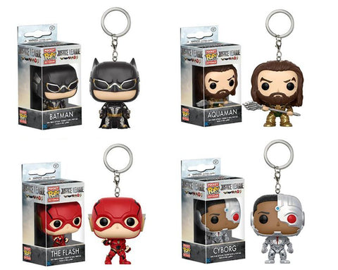 Funko pop Keychain Justice League - DCMarvel.Store