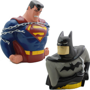 Superman vs Batman Piggy Bank - DCMarvel.Store
