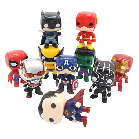 Justice League & Avengers Mini Figures Collection - DCMarvel.Store