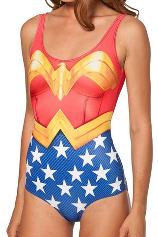 Wonder Woman Swimsuit - DCMarvel.Store