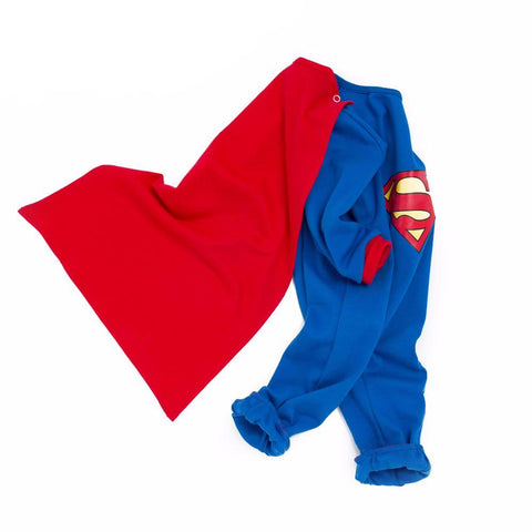 Cute Baby Superman Onesies with Cape - DCMarvel.Store