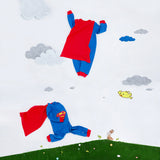 Cute Superman Onesies with Cape for Baby - DCMarvel.Store