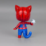Spider-Man vs Iron Man Cat Version Action Figure - DCMarvel.Store