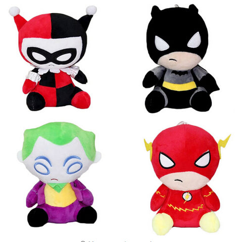 DC Comic Characters 8 Inches Stuffed Dolls - DCMarvel Store