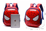 Kindergarten 3D Cute Backpack Spider-Man Iron Man Thor - DCMarvel.Store