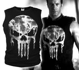 The Punisher Skull Sleeveless T-Shirt - DCMarvel.Store