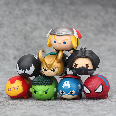 The Avengers Tsum Tsum 8 pcs/set - DCMarvel.Store