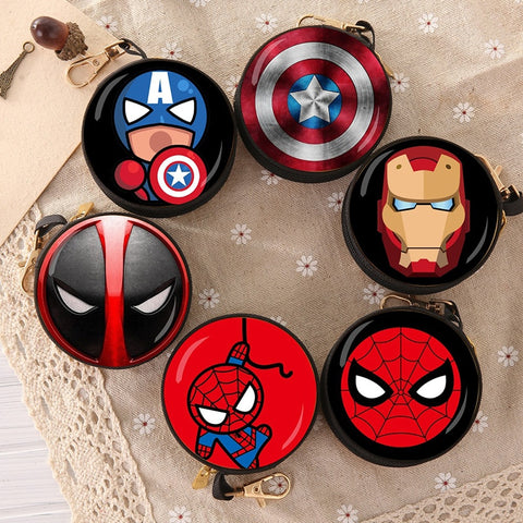 Marvel Avengers Headphone Storage Bag - DCMarvel.Store