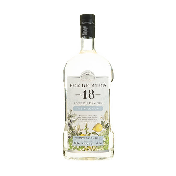 Foxdenton 48 London Dry Gin - 1.5 - The Magnum Company.
