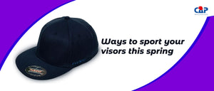 Ways to sport your visors this spring