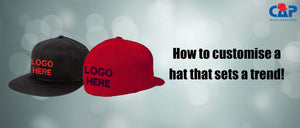 How to customize a hat that sets a trend!