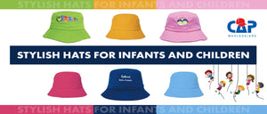 Stylish Hats for Infants and Children now at Cap wholesalers