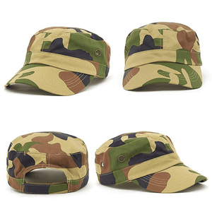 Grace Collection Camo Military Cap-(AH817/HE817)