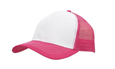 Headwear Mesh back Breathable Poly Twill Cap (3819)