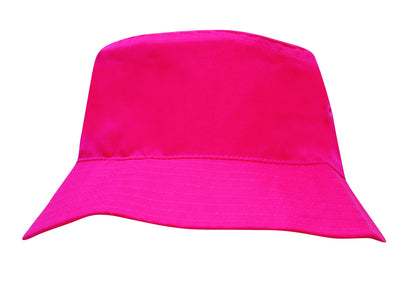 Headwear Breathable Poly Twill Infants Bucket Hat (3938)