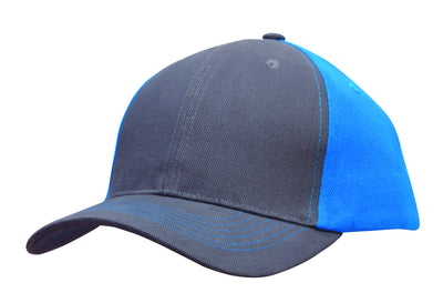 Headwear Brushed Heavy Cotton Contrast Cap (4001)