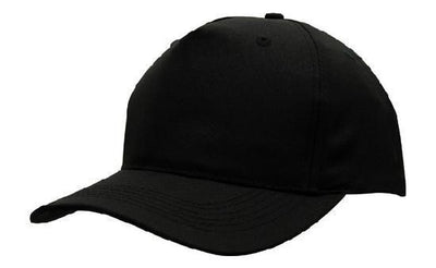 Headwear-Headwear Budget Cap-Black / Free Size-Uniform Wholesalers - 2