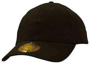 Headwear-Headwear Brushed Heavy Cotton and Spandex with Dream Fit Styling-Black / M/L-Uniform Wholesalers - 2