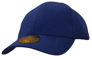 Headwear-Headwear Brushed Heavy Cotton and Spandex with Dream Fit Styling-Royal / M/L-Uniform Wholesalers - 5