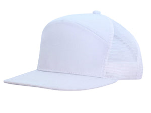 Headwear Premium American Twill A Frame Cap with Mesh Back (4154)