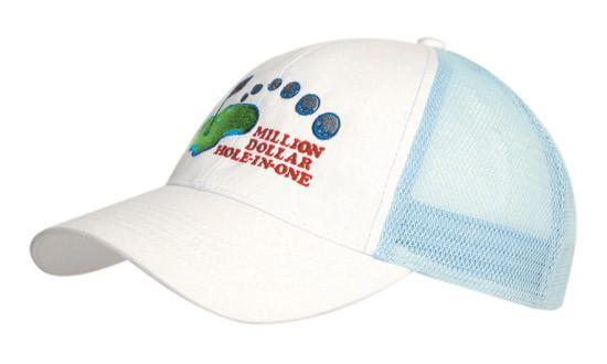 Headwear Brushed Cotton with Mesh Back Cap (4181)