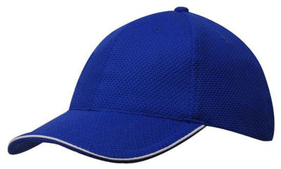 Headwear-Headwear Double Pique Mesh with Open Sandwich Cap--Uniform  Wholesalers - 7 79ea42249d31