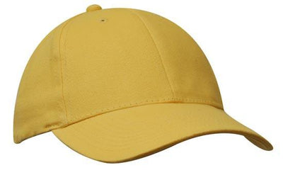 Headwear-Headwear Brushed Heavy Cotton-Gold / Free Size-Uniform Wholesalers - 11
